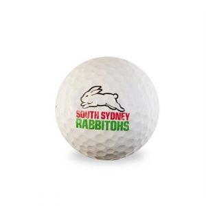 Fitness Mania - NRL South Sydney Rabbitohs Golf Balls 1 Dozen