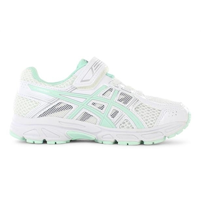 Fitness Mania – ASICS Kids (Girls) Pre Contend 4 PS White / Bay / Silver