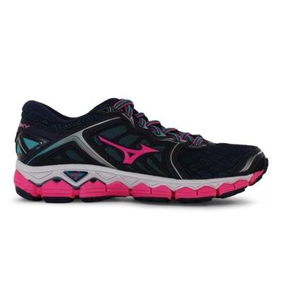 Fitness Mania – MIZUNO Womens Wave Sky Peacoat Pink