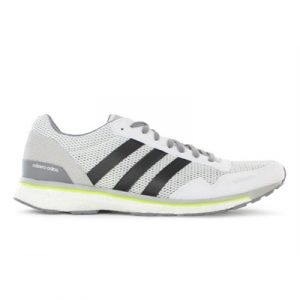 Fitness Mania - adidas Mens adizero adios Boost White / Grey