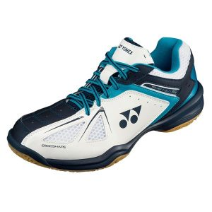 Fitness Mania - Yonex Power Cushion 35 Mens Badminton Shoes - Blue/White