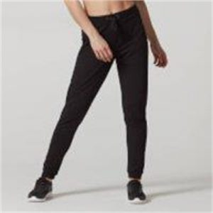 Fitness Mania - Superlite Slim Fit Joggers - Black - S