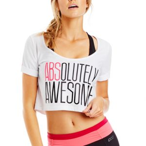 Fitness Mania - Absolutely Cropped Tee