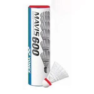 Fitness Mania - Yonex Mavis 600 Red Nylon Badminton Shuttlecocks - Red