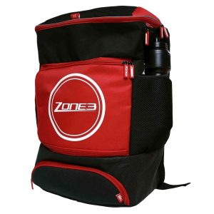 Fitness Mania - Zone3 Triathlon Transition Backpack - Black/Red