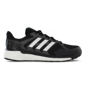 Fitness Mania - adidas Mens Supernova ST Core Black / Ftwr White / Grey Three