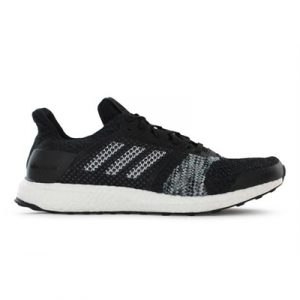Fitness Mania - adidas Mens Ultra Boost ST Core Black / Ftwr White