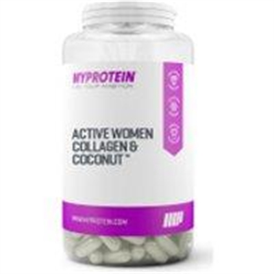 Fitness Mania – Active Women Collagen & Coconut™ – 180capsules – Pot – Unflavoured