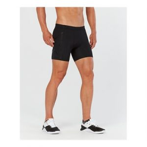 Fitness Mania - 2XU Compression 1/2 Shorts Mens