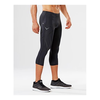 Fitness Mania – 2XU Compression 3/4 Tights Mens