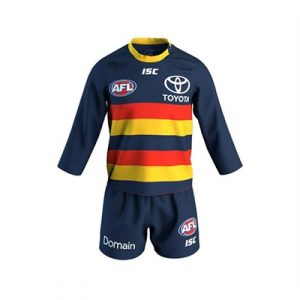Fitness Mania - Adelaide Crows Home Jersey Set 2018 Toddlers