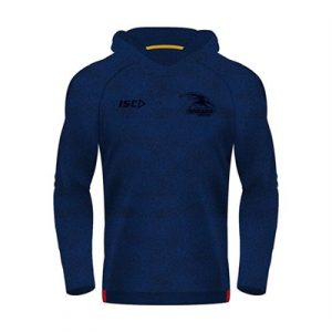 Fitness Mania - Adelaide Crows Kids Warm Up Hoody 2018