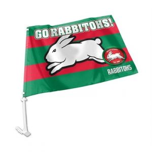 Fitness Mania - South Sydney Rabbitohs Car Flag