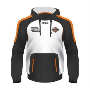 Fitness Mania - Wests Tigers Squad Hoody 2018
