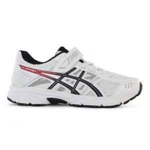 Fitness Mania - ASICS Kids (Boys) Pre Contend 4 PS White / Onyx / Classic Red
