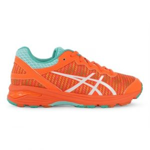 Fitness Mania - ASICS  Kids Gel-Netburner Professional FF (GS) ECM Hot Orange