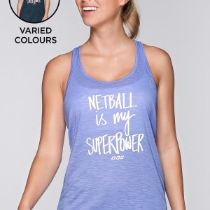 Fitness Mania - Superpower Slouchy Tank