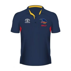 Fitness Mania - Adelaide Crows Kids Bamboo Polo 2018