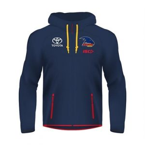 Fitness Mania - Adelaide Crows Ladies Tactical Hoody 2018