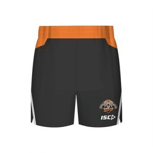 Fitness Mania - Wests Tigers Kids Training Shorts 2018