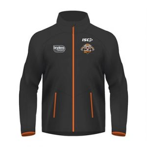 Fitness Mania - Wests Tigers Ladies Wet Weather Jacket 2018