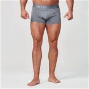 Fitness Mania - Sport Boxers - S - Charcoal/Charcoal
