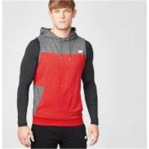 Fitness Mania - Superlite Sleeveless Hoodie - S - Red