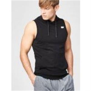 Fitness Mania - Superlite Sleeveless Hoodie - XXL - Black