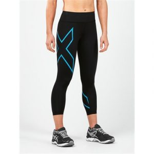 Fitness Mania - 2XU Compression Bonded Mid Rise 7/8 Tights Womens
