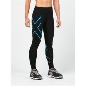 Fitness Mania - 2XU Compression Bonded Mid Rise Tights Womens