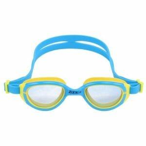 Fitness Mania - Zone3 Aqua Hero Kids Swimming Goggles - Blue/Yellow