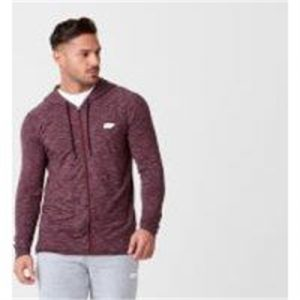Fitness Mania - Performance Zip-Top - XS - Burgandy Marl