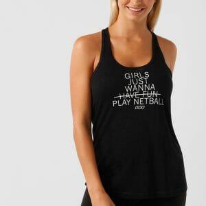 Fitness Mania - Wanna Play Netball Tank
