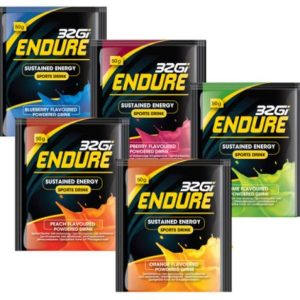 Fitness Mania - 32Gi Low Gi Endurance Energy Drink - 50g Sachet