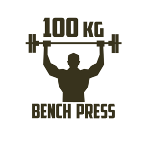 Health & Fitness - 100 KG BENCH PRESS - Henrik Kihlberg