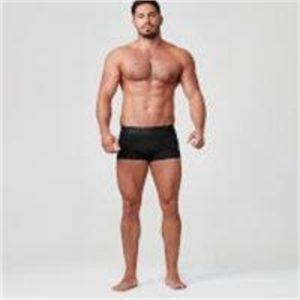 Fitness Mania - Sport Boxers - XXL - Black/Black