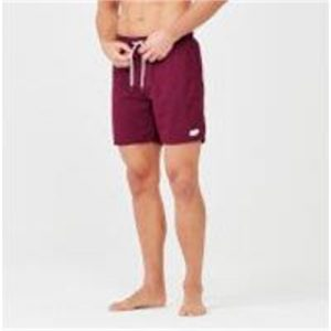 Fitness Mania - Surf Swim Shorts - S - Burgundy