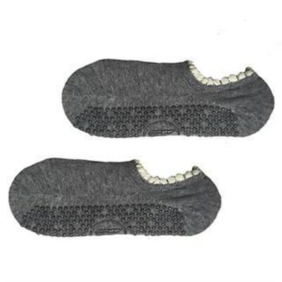 Fitness Mania – Move Active Non-Slip Pilates Socks – Pom Pom Grey