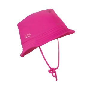 Fitness Mania - Zoggs Barlins Toddler Girls Bucket Hat - Pink