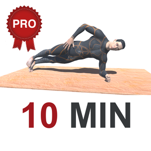 Health & Fitness – 10 Min PLANKS Workout Challenge PRO – Tone