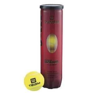 Fitness Mania - Wilson Team W Tennis Balls - Can of 4