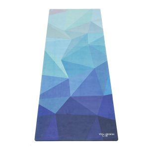 Fitness Mania - Yoga Design Lab 3.5mm Studio Combo Yoga Mat - Geo Blue