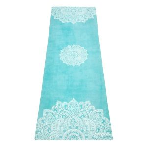 Fitness Mania - Yoga Design Lab 3.5mm Studio Combo Yoga Mat - Mandala Turquoise