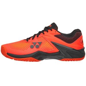 Fitness Mania - Yonex Power Cushion Eclipsion 2 Mens Tennis Shoes - Orange/Black