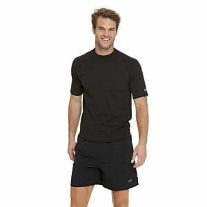 Fitness Mania - Zoggs Unisex Swimming Sun Top - Black