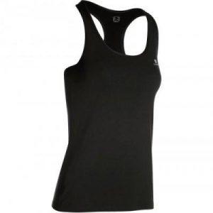 Fitness Mania - 100 Women's Cardio Fitness Tank Top - Black