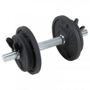 Fitness Mania - 10kg Dumbbell Set Weight Training - With Carry Case