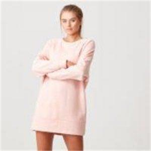 Fitness Mania - Luxe Lounge Sweater Dress - XS - Blush