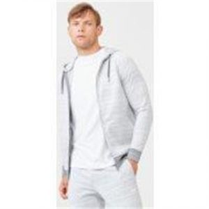 Fitness Mania - Swift Zip-Up Hoodie - L - Grey Marl