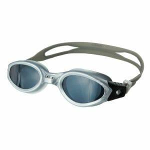 Fitness Mania - Zone3 Apollo Swimming Goggles - Silver/Black